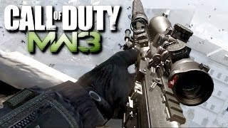 Call of Duty Modern Warfare 3 Sniper Mission Veteran Gameplay