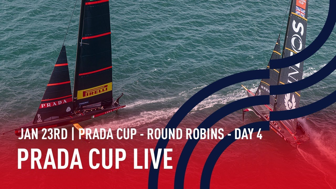 PRADA Cup Day 4 | Full Race Replay | Round Robins