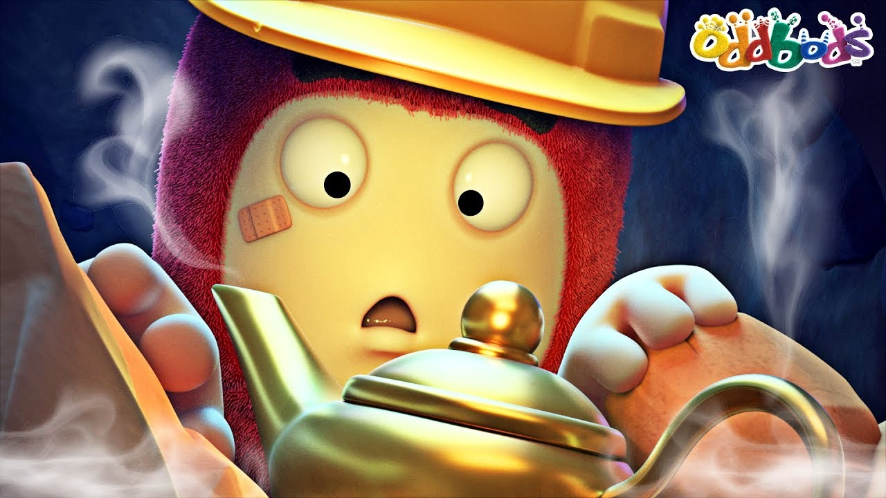 Oddbods | NEW | The Magical Lamp | Funny Cartoons For Children
