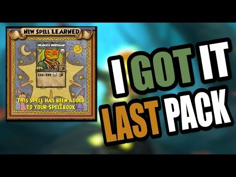 how to get headless horseman spell wizard101 tagged videos