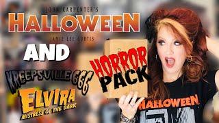 Horror Pack October Unboxing Horror Blu-Rays Elvira & Halloween 2018 Vinyl Soundtrack