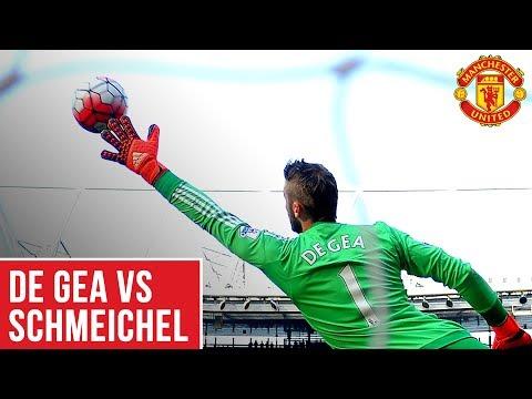 Manchester United's David De Gea vs Peter Schmeichel | Best Saves! | World Cup 2018