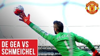 Manchester United's David De Gea vs Peter Schmeichel | Best Saves! | World Cup 2018