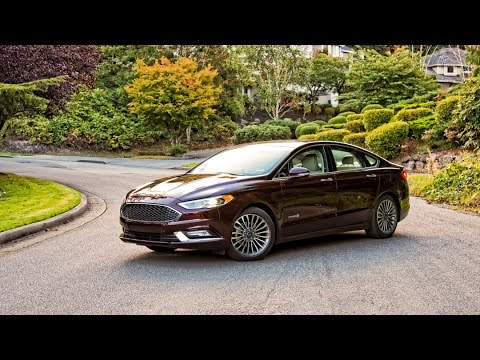 2017 Ford Fusion Hybrid Platinum Car Review