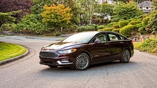 2017 Ford Fusion Hybrid Platinum Car Review