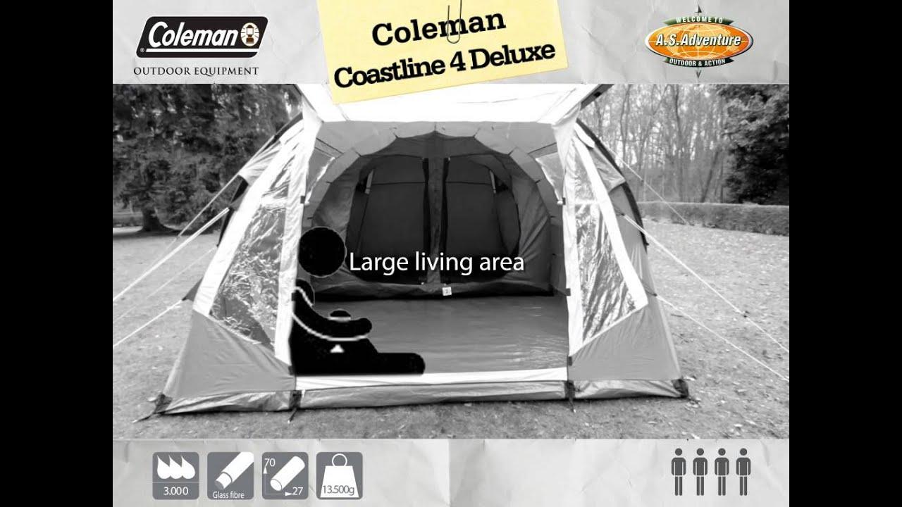 Coleman - Coastline 4 Deluxe -- EN & Coleman - Coastline 4 Deluxe -- EN - YouTube