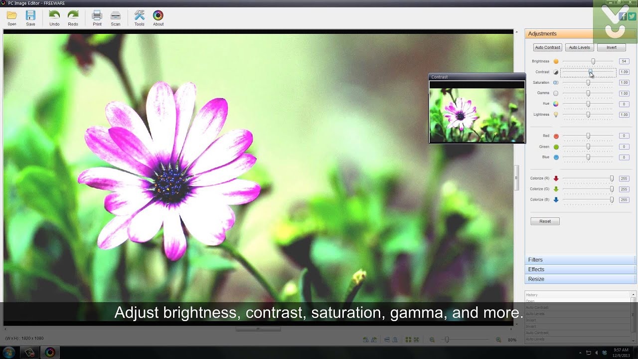 pc image editor edit images and photos download video