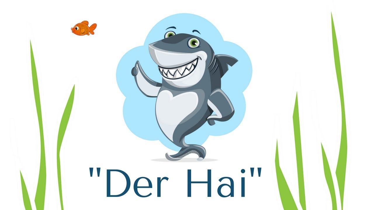 Der Hai Gesten Gedicht