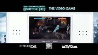 Percy Jackson & The Olympians: The Lightning Thief - DS trailer