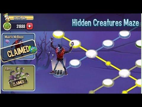 Monster Legends - Hidden Creaturre Maze Review UnlockAll