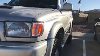 3rd Gen 4Runner Review/2000 Toyota 4Runner SR5/Walkaround
