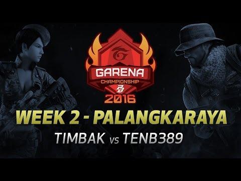 PBGC East W2 Palangkaraya: TIMBAK vs TENB389