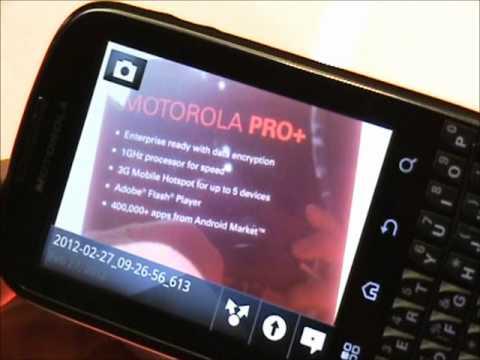 Motorola Pro Plus al MWC 2012