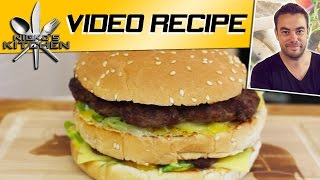 How to make a McDonalds Big Mac