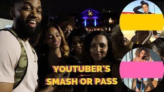 YOUTUBERS SMASH OR PASS IN PUBLIC!!!