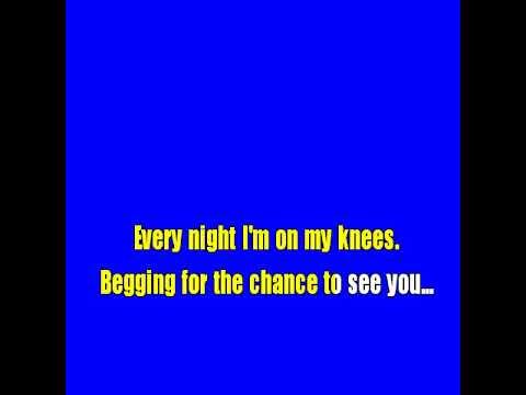 Karaoke One more time - Kenny G ft. Chante Moore