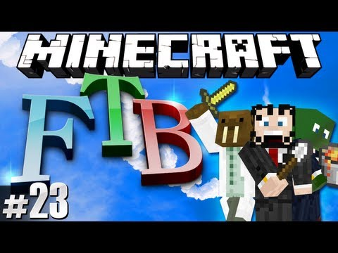 Minecraft Feed The Beast #23 - The Walrus takes flight!