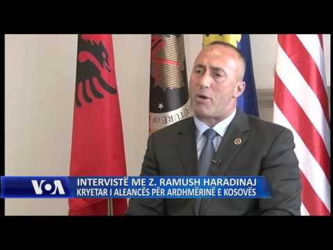 Intervistë me Ramush Haradinajn