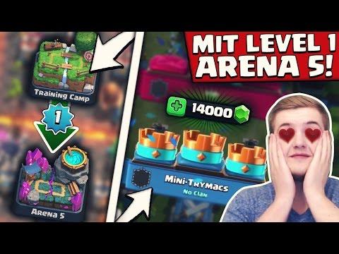 von-0-auf-1400-trophÄen!-|-level-1-account-challenge!-|-clash-royale-deutsch