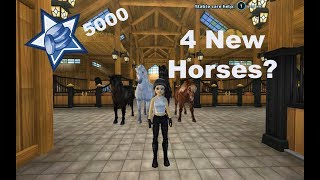 5000 Star Coins and 4 New Horses!