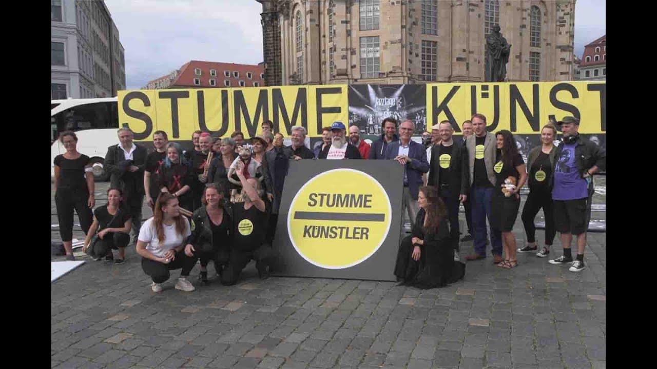 Prominent besetzte STUMME KÜNSTLER letztmalig in Dresden vor der Sommerpause 006