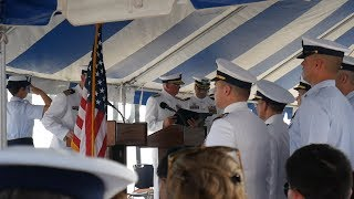 Change Of Command Ceremony - And Then Some Fishing