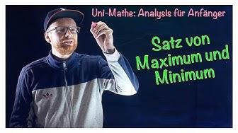 5.4 Satz vom Maximum und Minimum | Analysis für Anfänger: Stetigkeit