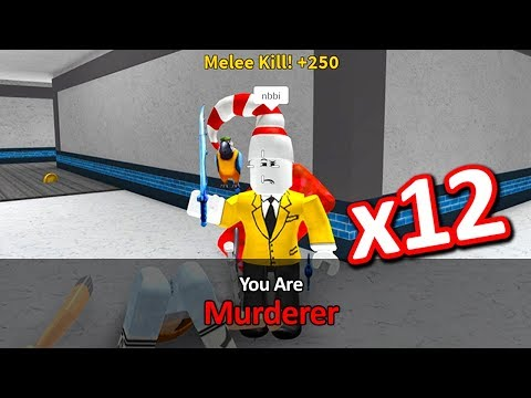 getting murderer everytime in murder mystery 2