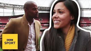 The NFL Show's Osi Umenyiora meets Arsenal's Alex Scott - BBC Sport