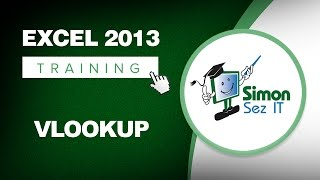 Microsoft Excel 2013 Training -- Using the VLOOKUP Function