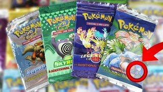 Opening 36 DIFFERENT Pokemon Card Sets! Rare Vintage Pokemon Booster Pack Opening!