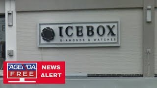 Icebox Celebrity Jewelry Store Robbed - LIVE COVERAGE