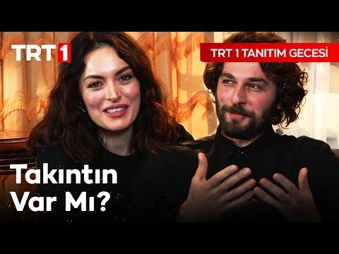 TRT 1 Tanıtım Gecesi: Masumlar Apartmanı Oyuncuları (Ezgi Mola & Birkan Sokullu)