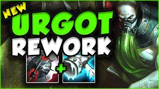 NEW URGOT REWORK IS SO BUSTED IN TOP LANE! NEW URGOT REWORK GAMEPLAY TOP SEASON 7! League of Legends