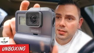 Gopro Hero 5 6 7 Extended Battery 9hrs Refuel Waterproof Extended Battery For Gopro Review Youtube