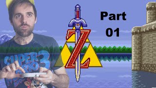 Zelda: A Link to the Past Longplay Part 01 NO DEATH RUN!