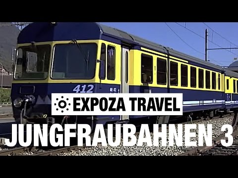 Jungfraubahnen Part 3 (Switzerland) Vacation Travel Video Guide