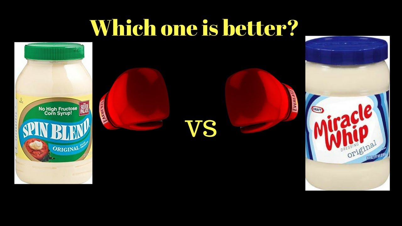 hellmann s vs miracle whip mayo challenge youtube
