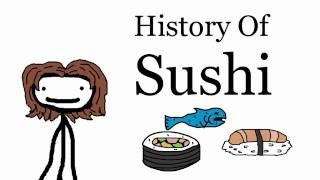A Brief History of Sushi -- Food Fridays
