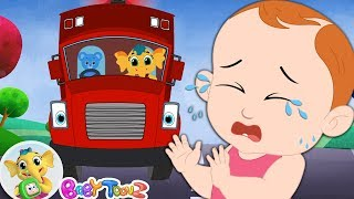 Baby Wheels On The Bus Vehicle Song +More Nursery Rhymes & Kids Songs -Emmie The Elephant BabyToonz