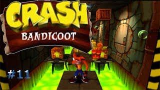 Barriles tóxicos/Crash Bandicoot #11
