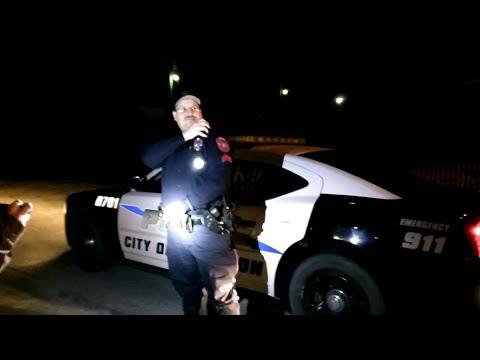 I'll trespass you from public property! Hamilton, TX Police