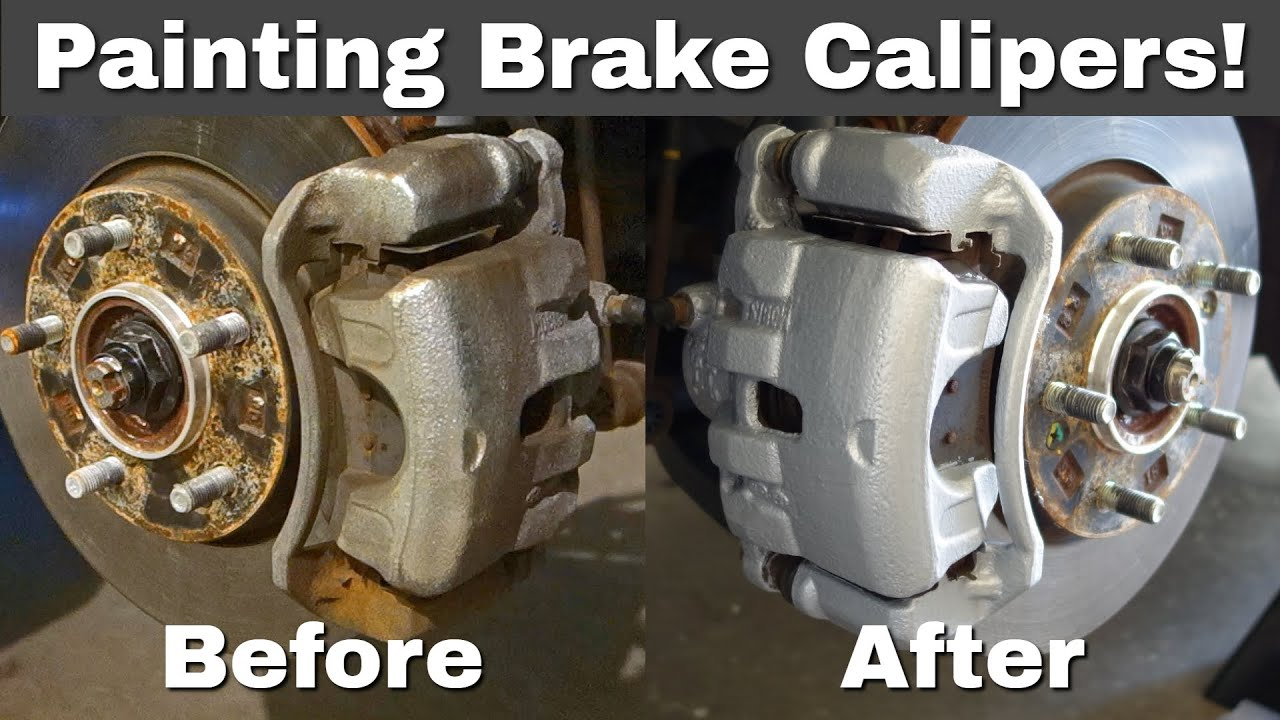 Colored Brake Calipers >> How To: Paint Brake Calipers | Dupli-Color - YouTube