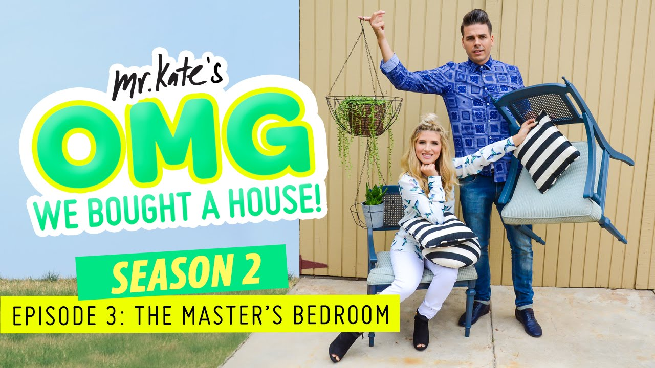 The Master's Bedroom! | OMG We Bought A House!