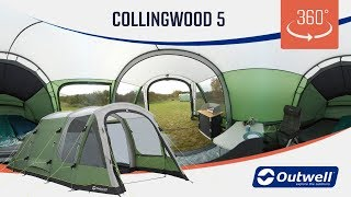 Outwell Collingwood 5 Tent - 360 video (2019)
