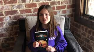 Young reader and blogger Emmie Enchanted LOVES The Eye of Ra!