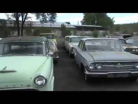 Old Car Yard in Colorado