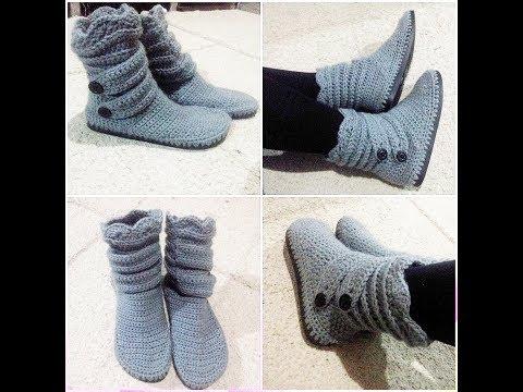 Download Botas em  Croche / Crochet Boots