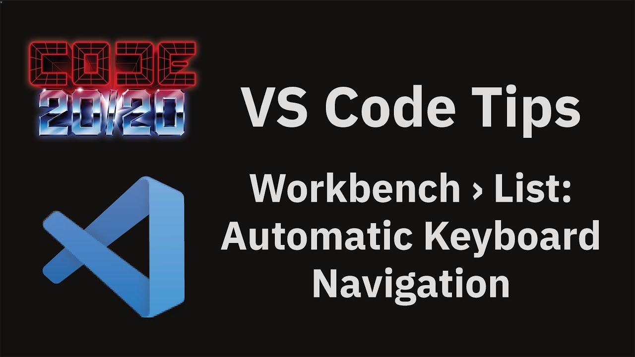 Workbench › List: Automatic Keyboard Navigation