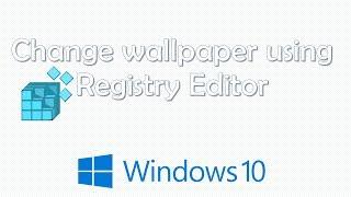 Set A Default Background Wallpaper For Windows 10 Desktop Password Recovery